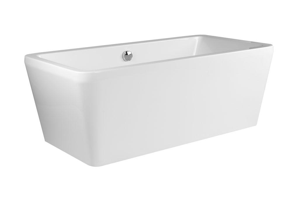 Freistehende badewanne maße  Freistehende Badewanne Kasiopeian