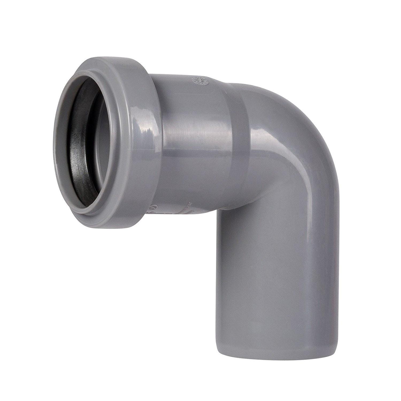 HT Rohr 87 ° DN 40 Abwasserrohr Abflussrohr Installation HT-Rohr Bogen