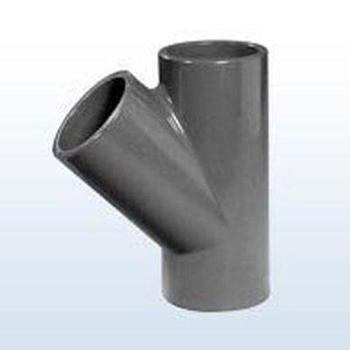 PVC T-Stück 45° Klebemuffe 50 mm