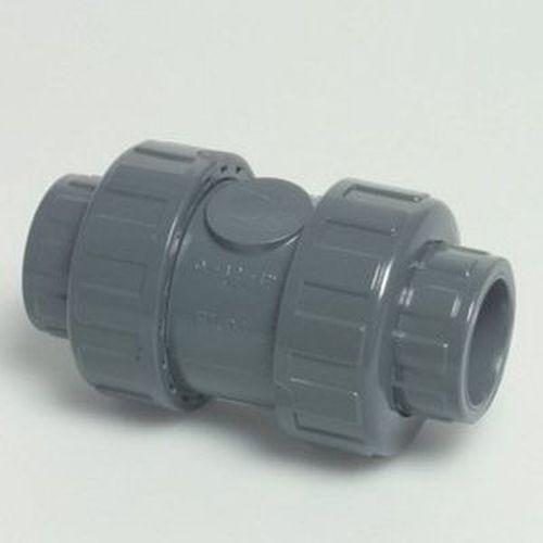 PVC Rückschlagventil Klebemuffe 50 mm