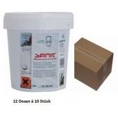 12x Sanit Wasserkastenwürfel für Geberit Spülkästen und andere Sparset 10 Würfel