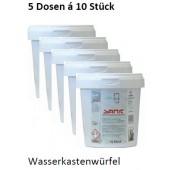5x Sanit Wasserkastenwürfel für Geberit Spülkästen und andere Sparset 10 Würfel
