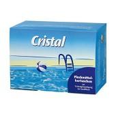 Cristal Flockmittelkartuschen 1,0 kg Flockmittel Sandfilter Flockungsmittel Pool
