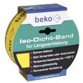 Beko Iso-Dicht-Band für Längsverklebung gelb - 60mm x 40m