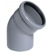 2x HT Rohr 45 ° DN 32 Abwasserrohr Abflussrohr Installation HT-Rohr Bogen