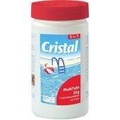 Cristal MultiTabs Chlor 5 in 1 Multifunktionstabletten 1 kg Poolreinigung