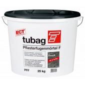Tubag Pflasterfugenmörtel F PFF 25 kg Eimer (Basalt)