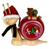 Kuhnert Räuchermann Weihnachtsschnecke Räucherschnecke 15 cm
