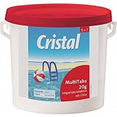 Cristal MultiTabs Chlor 5 in 1 Multifunktionstabletten 5 kg Poolreinigung