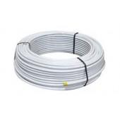 Aluminium Mehrschichtverbundrohr 50m Rolle 20x2mm für Heizung Sanitär (€1,54/m) Fußbodenheizung