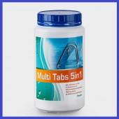 MultiTabs Chlor 5 in 1 Multifunktionstabletten 1 kg Poolreinigung