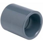 PVC Muffe doppelte Klebemuffe 50 mm