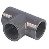 PVC T-Stück 90° Klebemuffe 50 mm