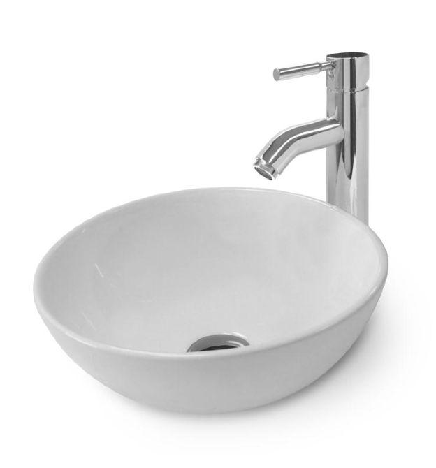 Waschbecken rund  Keramik Aufsatzwaschtisch Kasiopeian 21 Aufsatz Waschtisch ...